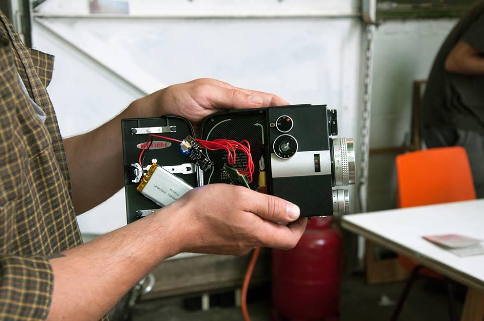 Atelier de fabrication d'une caméra libre : la Supi 8 (18-19 nov.)